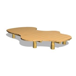 Woodwork AB-Stort lekgolv-plattform