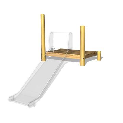 Woodwork AB-Plattform till rutschkana100cm