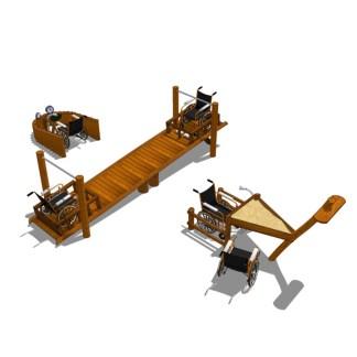Woodwork AB-Anpassad lekmiljö för rullstolburna