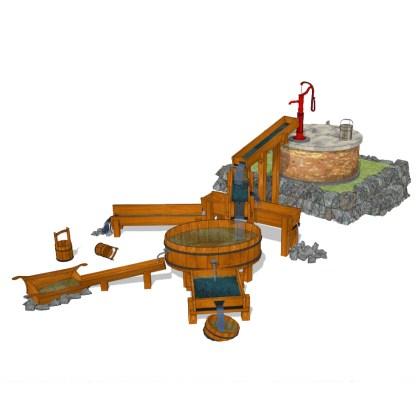 Vattenlek MEGA från Woodwork AB