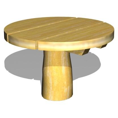 Woodwork AB-Sandbakbord i robinia, sandlåda, sandlek
