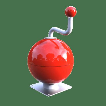 Interaktiv lek med musikboll-Woodwork AB
