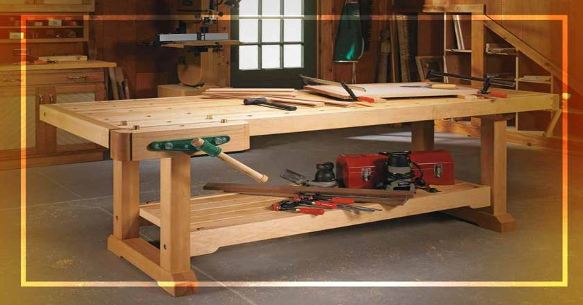 How to Build a Woodworking Bench for Your Workshop!