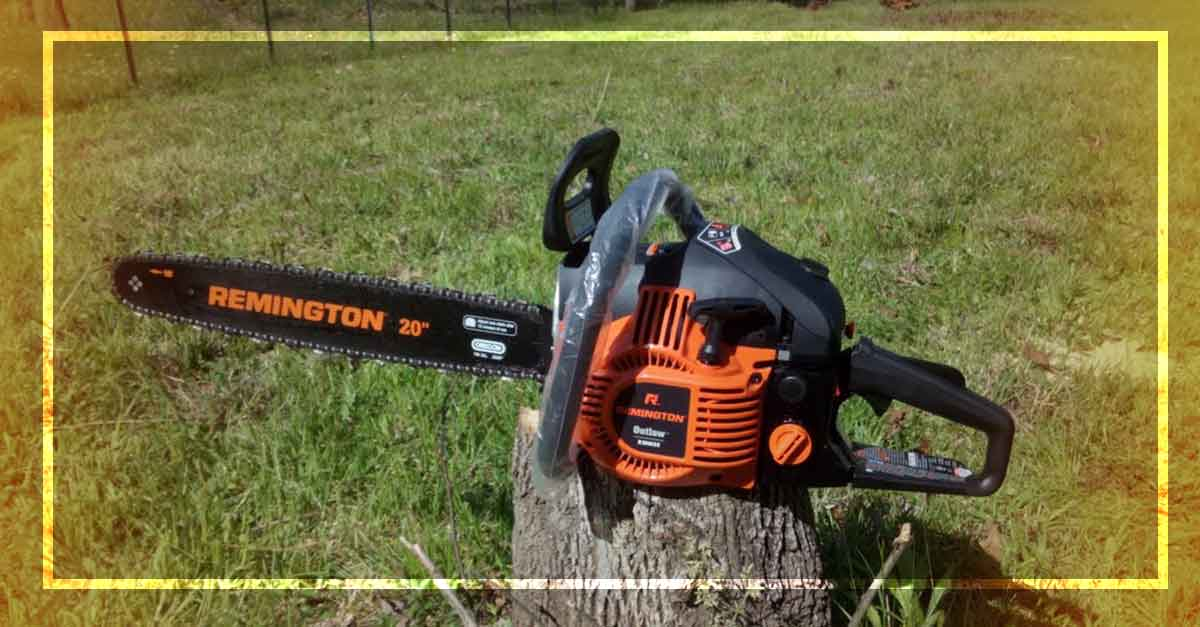 Remington RM4620 Chainsaw Review
