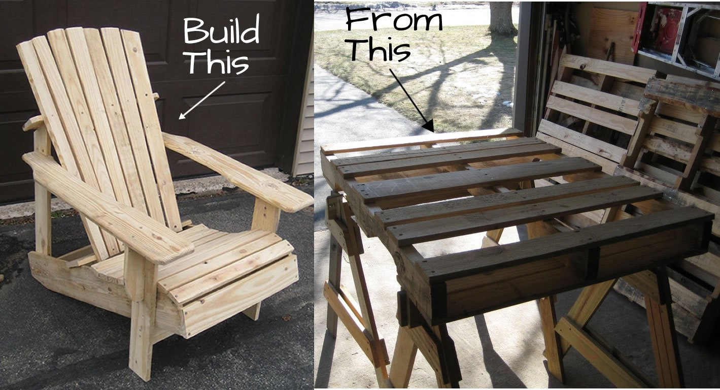 Adirondack Chair Plans Pallet Adirondack Chair Plans Woodwork City Free