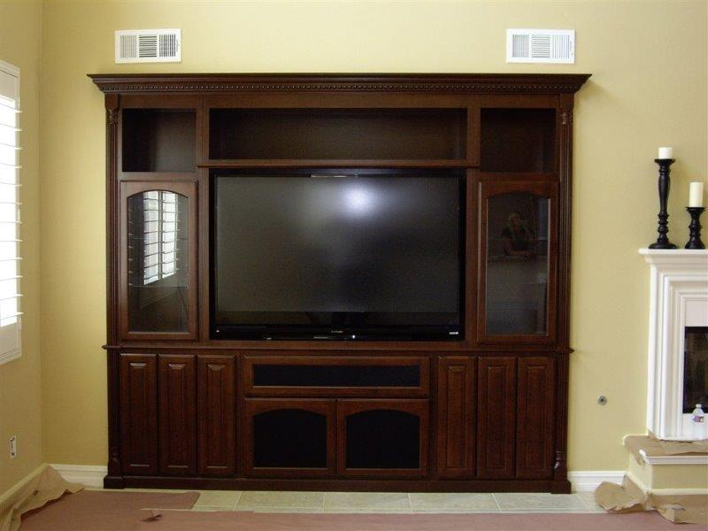 TV stands and built in entertainment centers in Corona CA