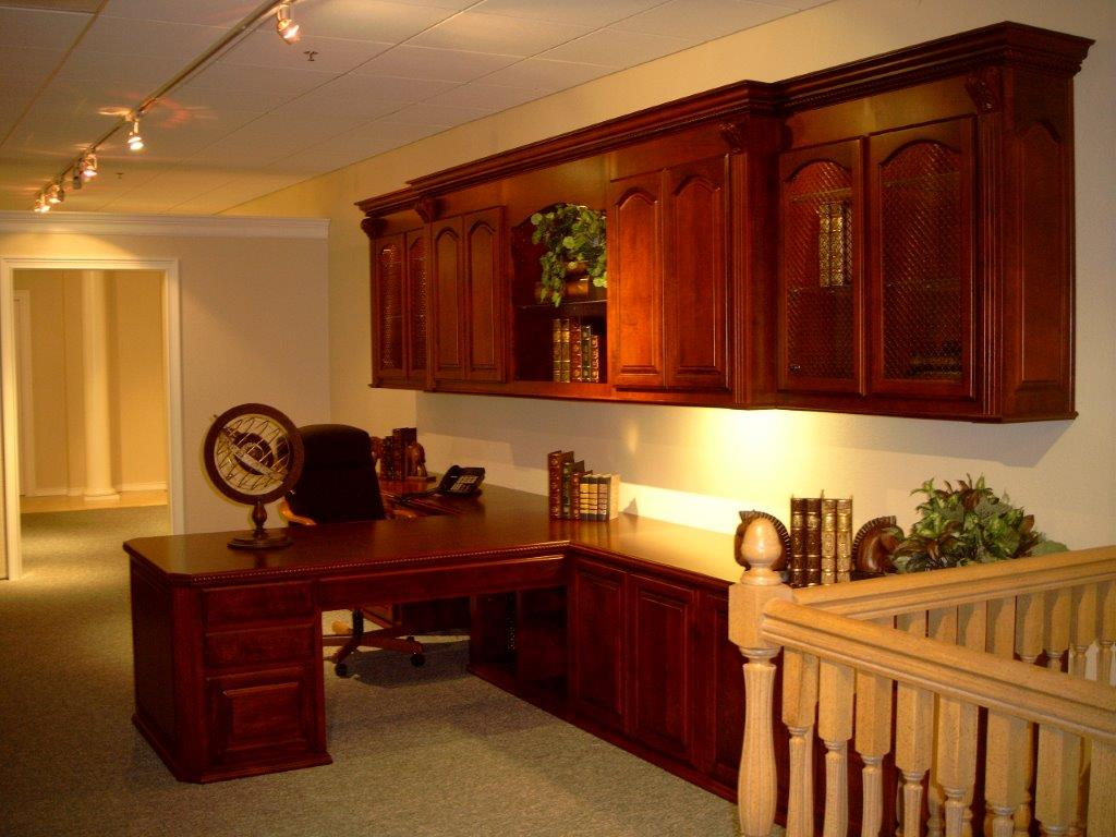 open kitchen cabinets vintage table and chairs partner desk for your southern california home office
