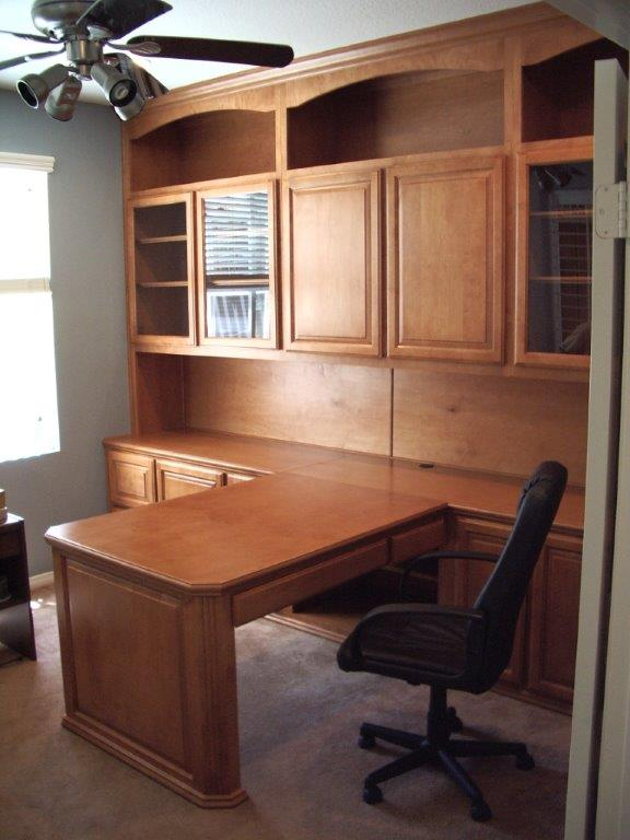 kitchen cabinet desk units mechanical scale partner for your southern california home office