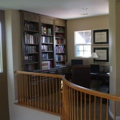 Kitchen Refacing Outdoor Store Home Office In Loft At Top Of Stairs - Woodwork Creations