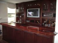 Built in home bar cabinets in Southern California ...