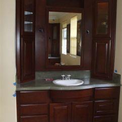 Small Kitchen Sinks 19x33 Sink Get A New Bathroom Vanity - Woodwork Creations