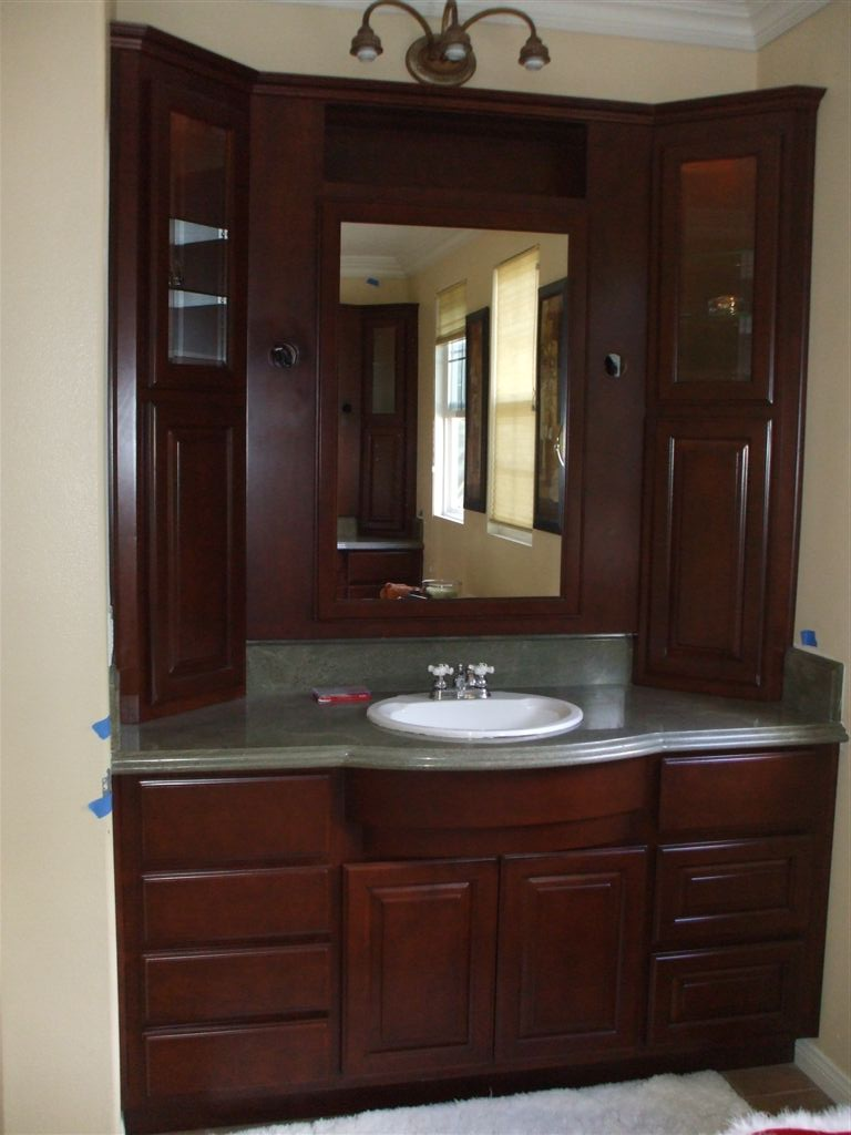 small kitchen sinks pop up electrical sockets for kitchens get a new bathroom vanity - woodwork creations