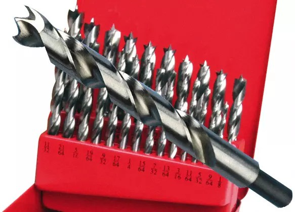 Carbide Tipped Brad Point Drill Bits