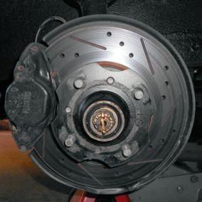 Datsun 240Z Toyota Disk Brake Conversion, WoodWorkerB