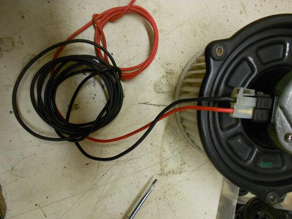 Honda blower motor wiring