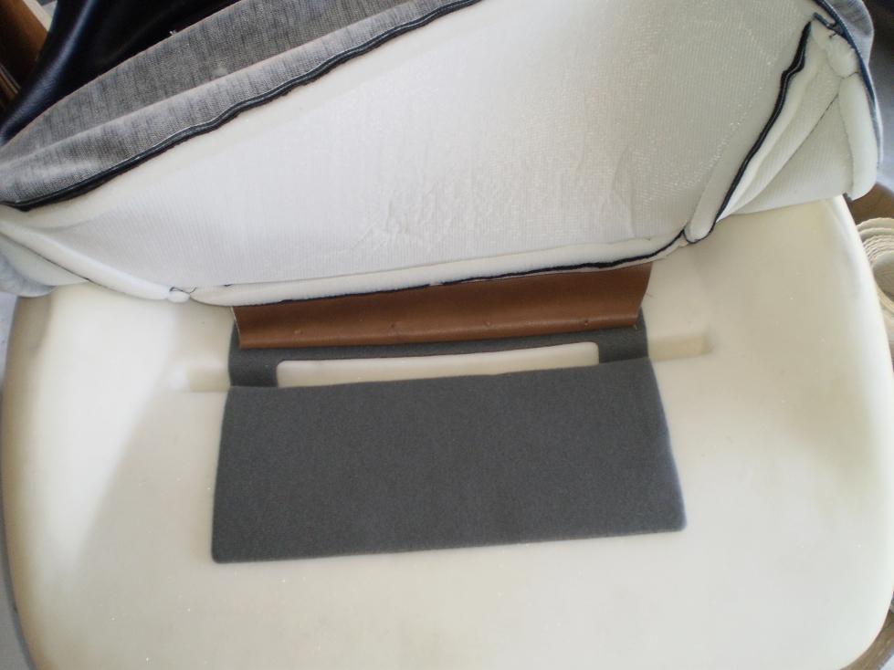 Seat heaters installed, Datsun 240Z seat refurbish, WoodWorkerB