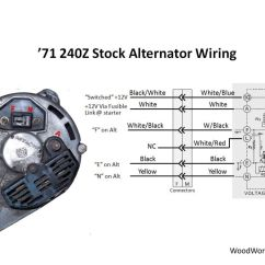 Alternator Diagram Wiring Siemens Soft Starter 280zx 31 Images