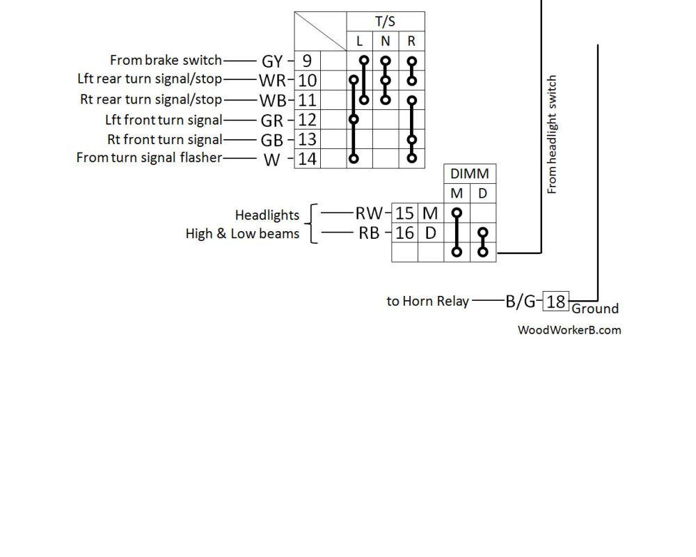 medium resolution of 1973 240z turn signal switch wiring diagram