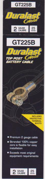 Datsun 240Z Battery Cable (Negative)