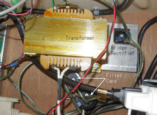 Unregulated DC Power Supply Photo