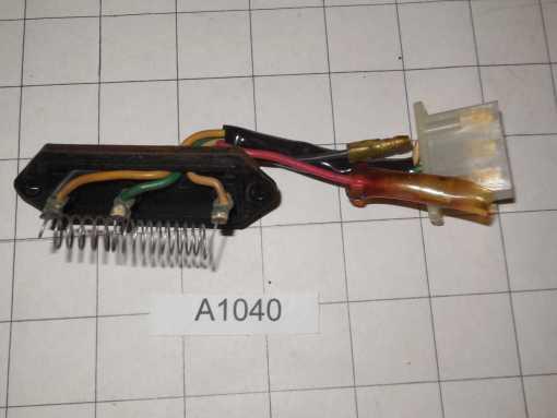 Datsun 240Z temperature sensing element for cabin heater