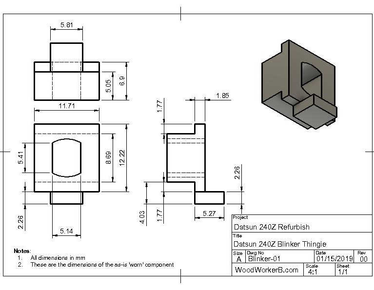 Datsun 240Z Blinker rebuild - WoodWokerB