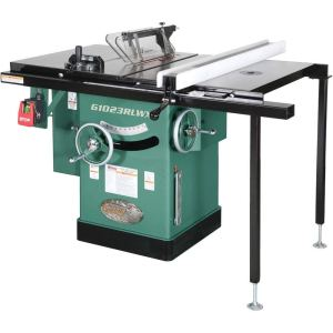 Grizzly G1023RLWX Cabinet Left-Tilting Table Saw, 10 inch