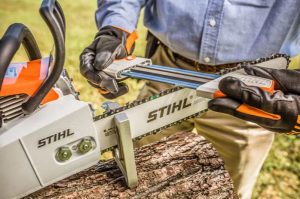 how to sharpen a chainsaw with a file