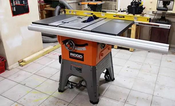 Ridgid Table Saw R4512 Review