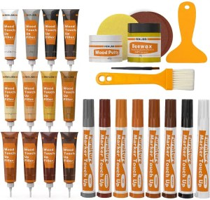 REALINN Wood Furniture Repair Kit - best wood putty for staining