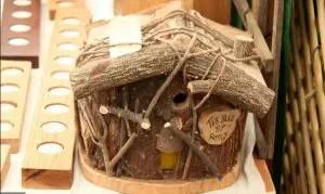 Wooden House for Little Birdie