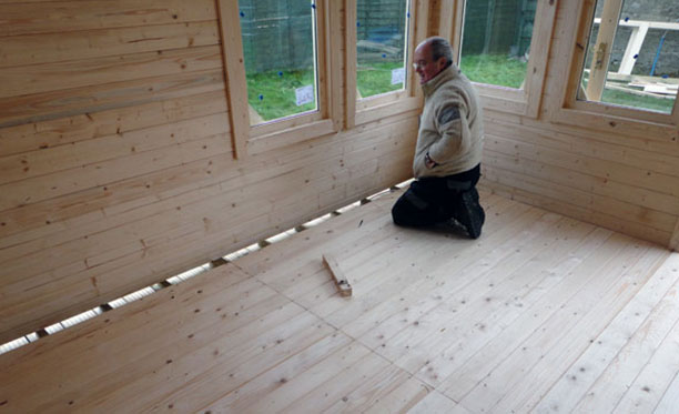 How to Fill Wood Holes