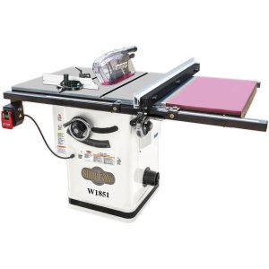 Shop Fox W1851 Hybrid Cabinet Table Saw with Extension Table