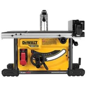 Dewalt DCS7485B Flexvolt 60v Max Table Saw Under 500 USD