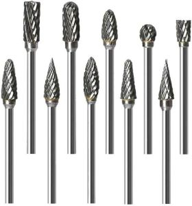 ORAPXI Double Cut Carbide Rotary Burr Set