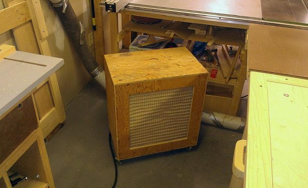 What Size Air Filtration System for Shop