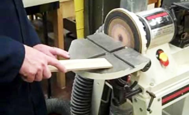 How to use a Stationary Belt Sander