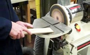 How to use a Stationary Belt Sander