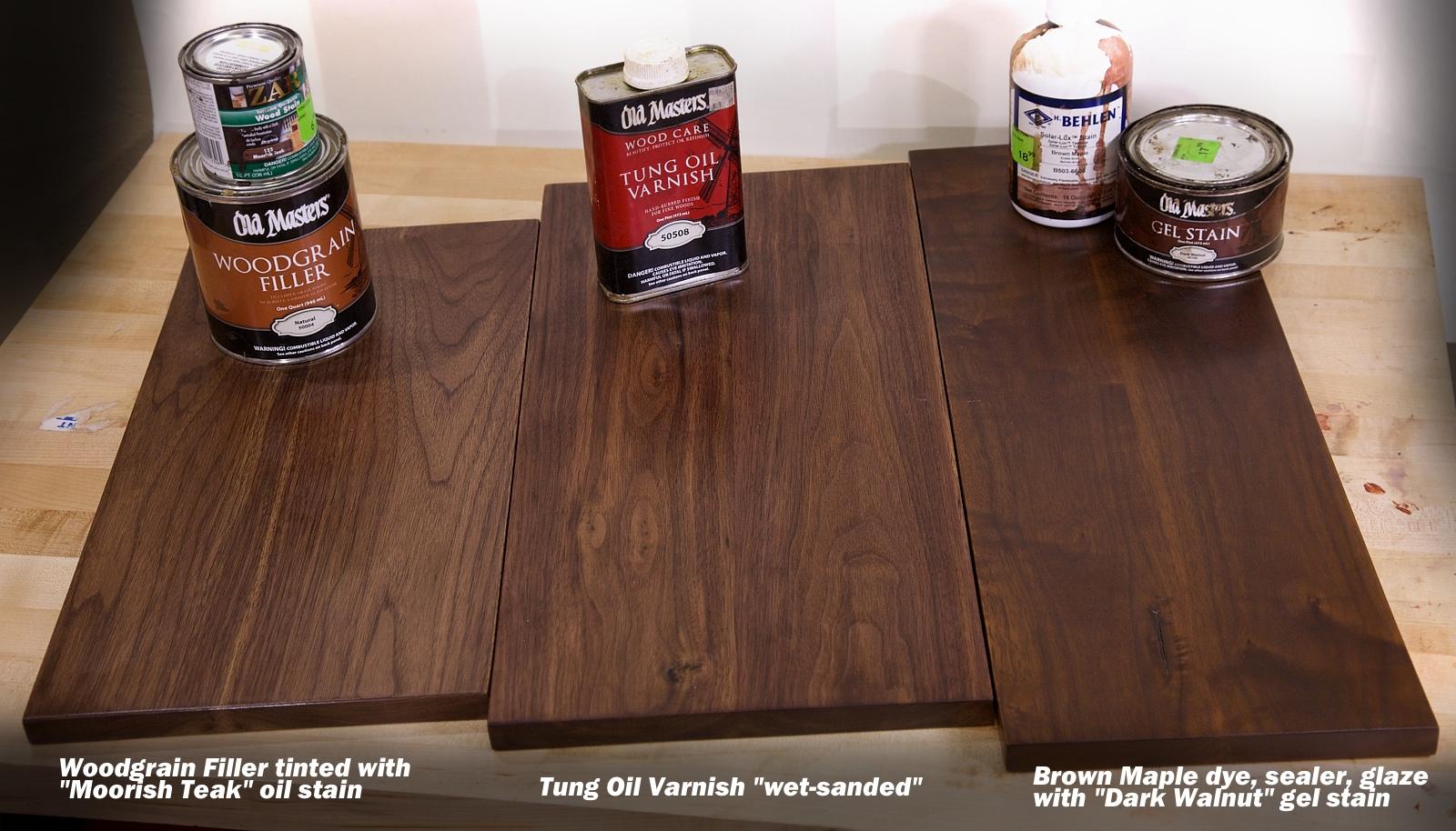 3 Tricks For A Beautiful Walnut Wood Finish  Woodworkers