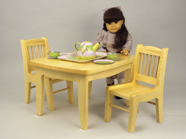 18 doll table and chairs cheap wooden second hand tea chair woodworking plan woodworkersworkshop