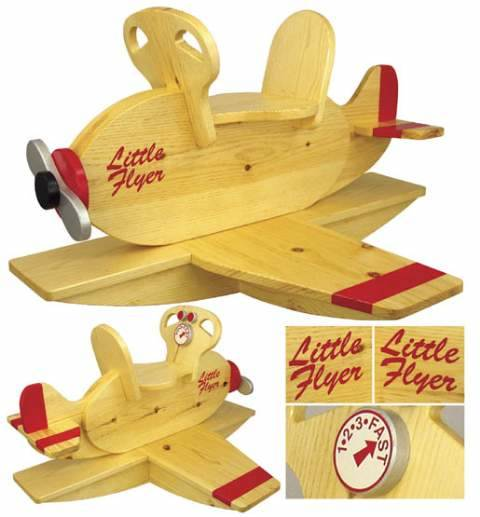 Airplane Rocker Woodworking Plan  WoodworkersWorkshop