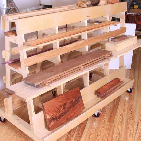 Plywood Cart Woodworking