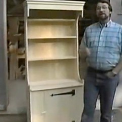 Kitchen Hutch Plans Lowes Track Lighting Cupboard Woodworking Plan Featuring Norm Abram