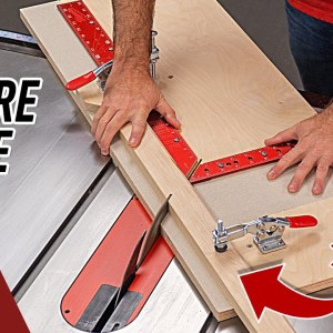 How to Make a Picture Frame Sled. Perfect Miters Every Time.