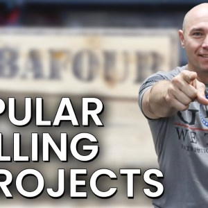 Popular Woodworking Projects That Sell