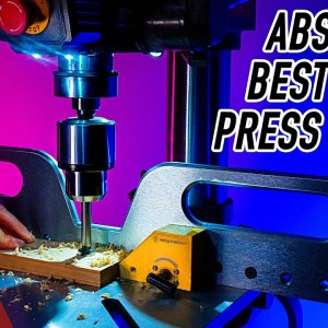 The Last Drill Press Fence You'll Ever Need