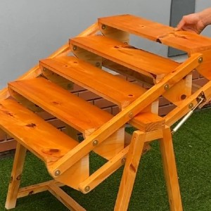 Smart solutions for small spaces - Build Dining Tables And Two-In-One Storage Racks