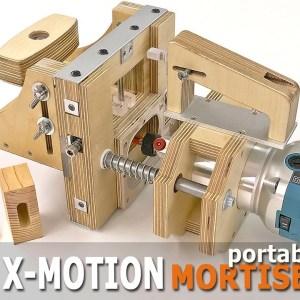 How to make a homemade X-Motion Portable Mortiser