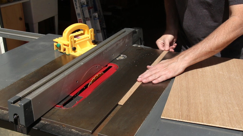 Table Saw T Slot Dimensions