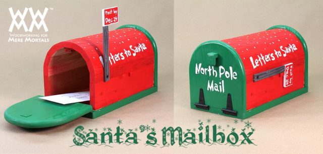 Mailbox Send Letters To The North Pole
